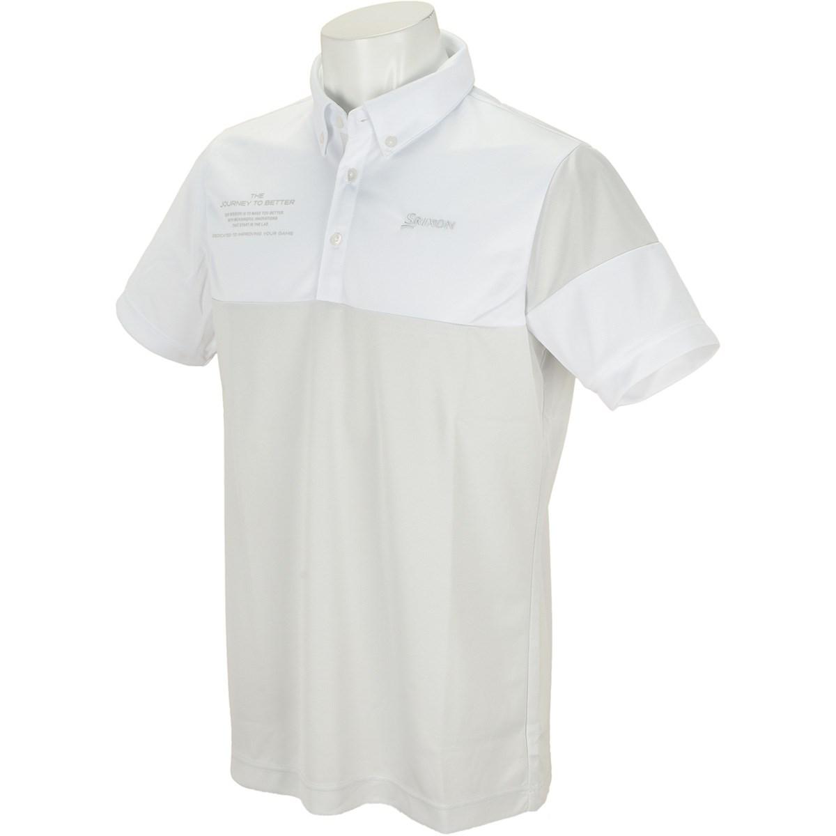 スリクソンゴルフ バイカラー半袖ポロシャツ