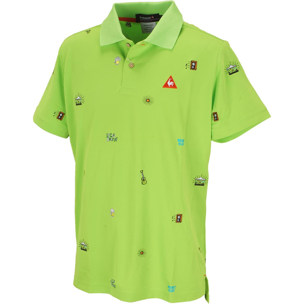 クーリスト鹿の子半袖ポロシャツ