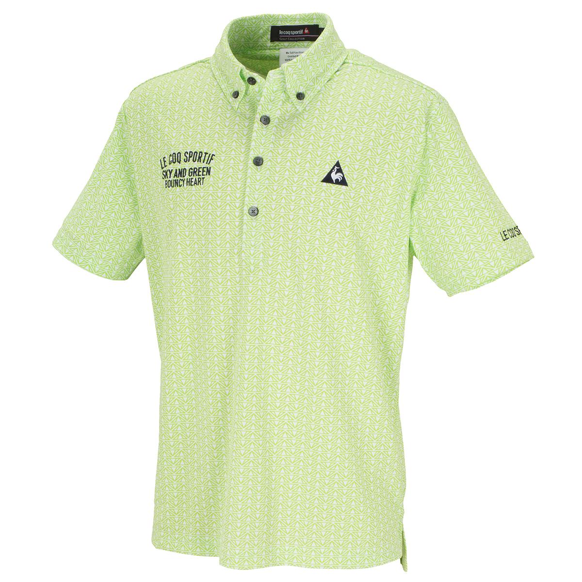 クーリストフェステントプリント半袖ポロシャツ