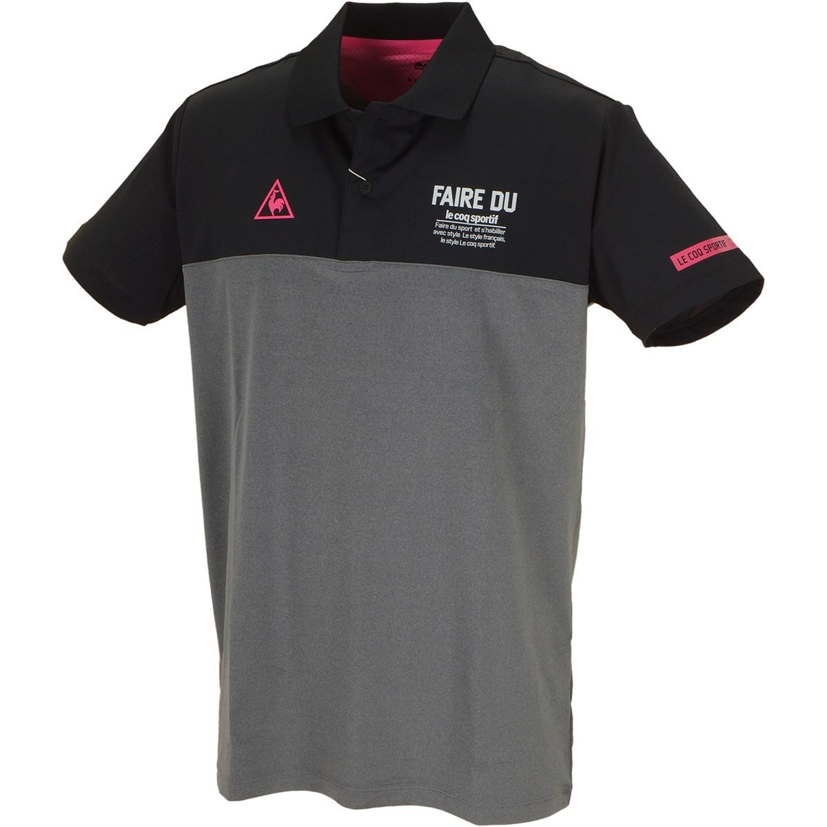 ルコックゴルフ ベアスムース半袖ポロシャツ