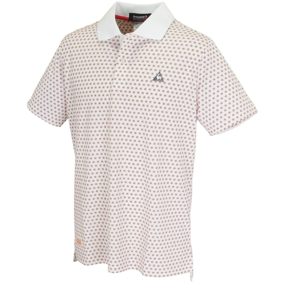 ルコックゴルフ 半袖ニットポロシャツ