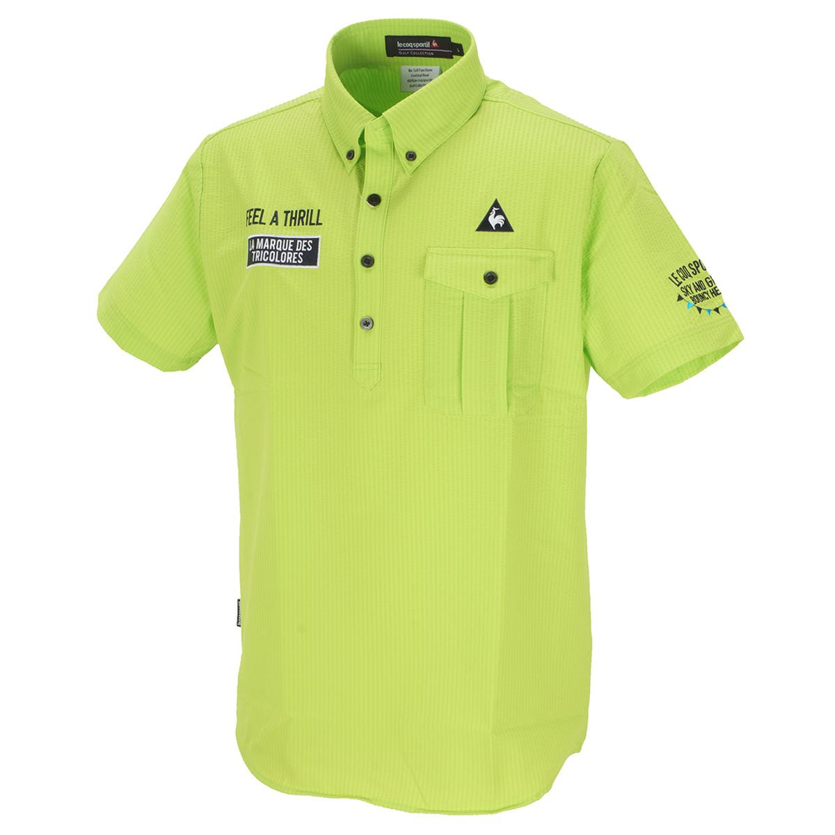 ストレッチ プライムフレックス シャドーストライプ サッカー半袖ポロシャツ
