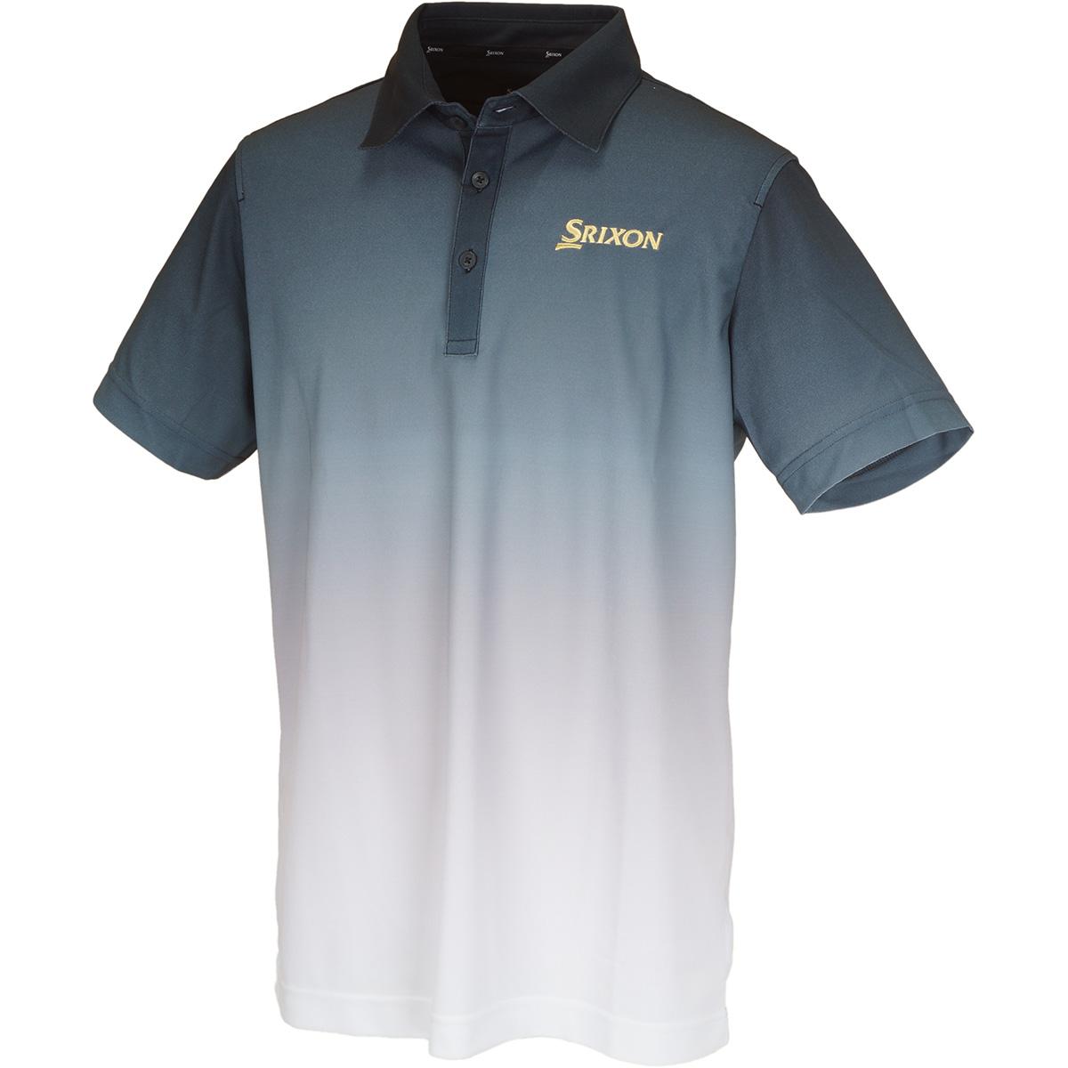 COOLISTグラデーションプリント 半袖ポロシャツ
