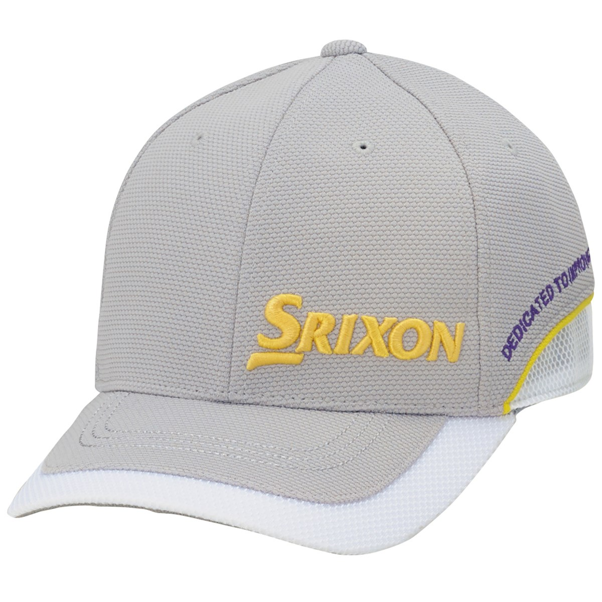 ダンロップ SRIXON キャップ フリー グレー