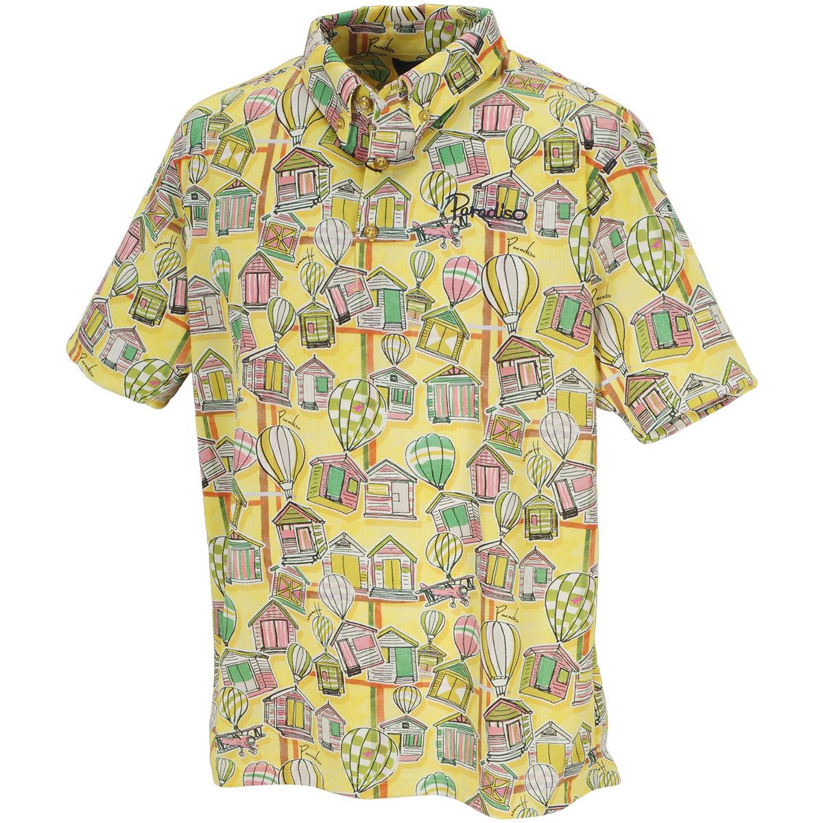 半袖ボタンダウンポロシャツ