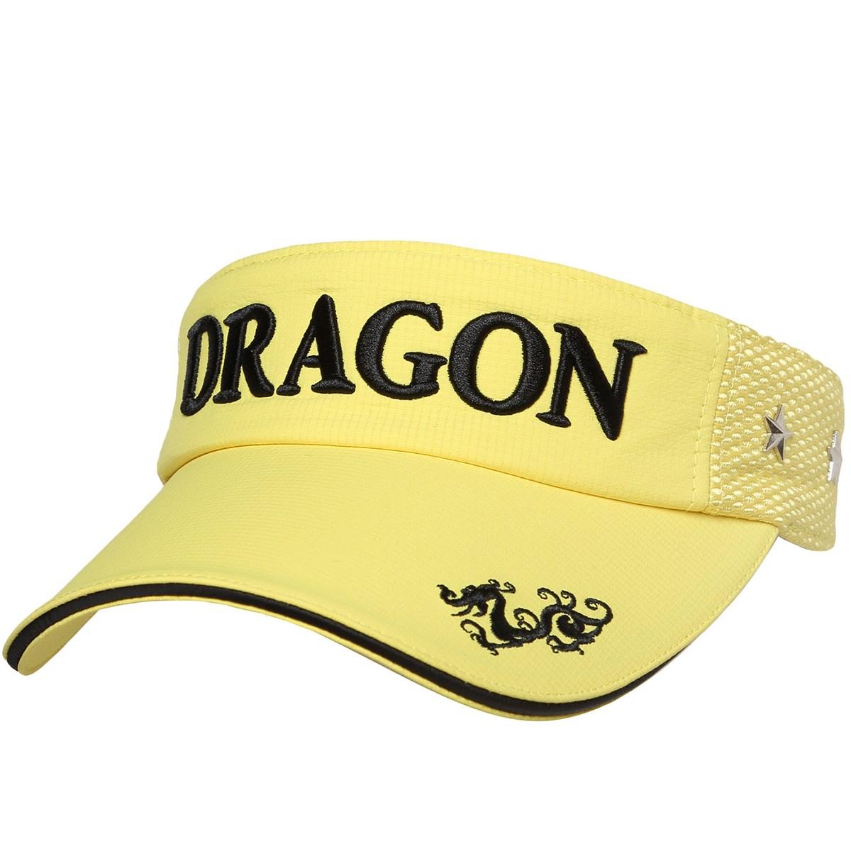 ダンスウィズドラゴン Dance With Dragon スタースタッズ サンバイザー フリー イエロー 030