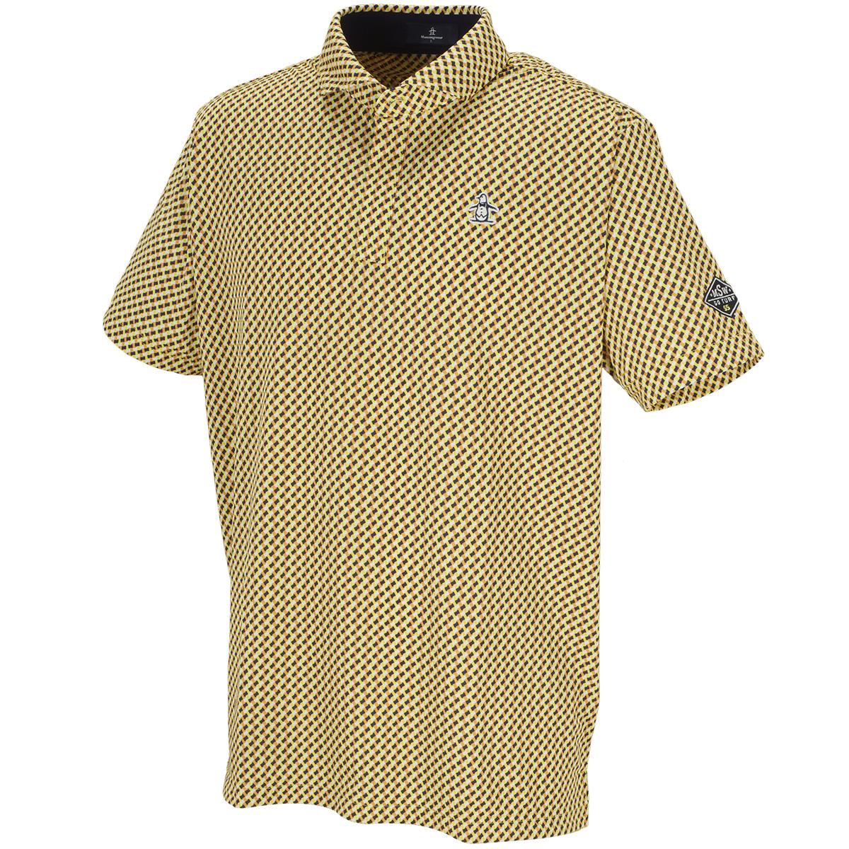 COOLIST小柄プリント半袖ポロシャツ