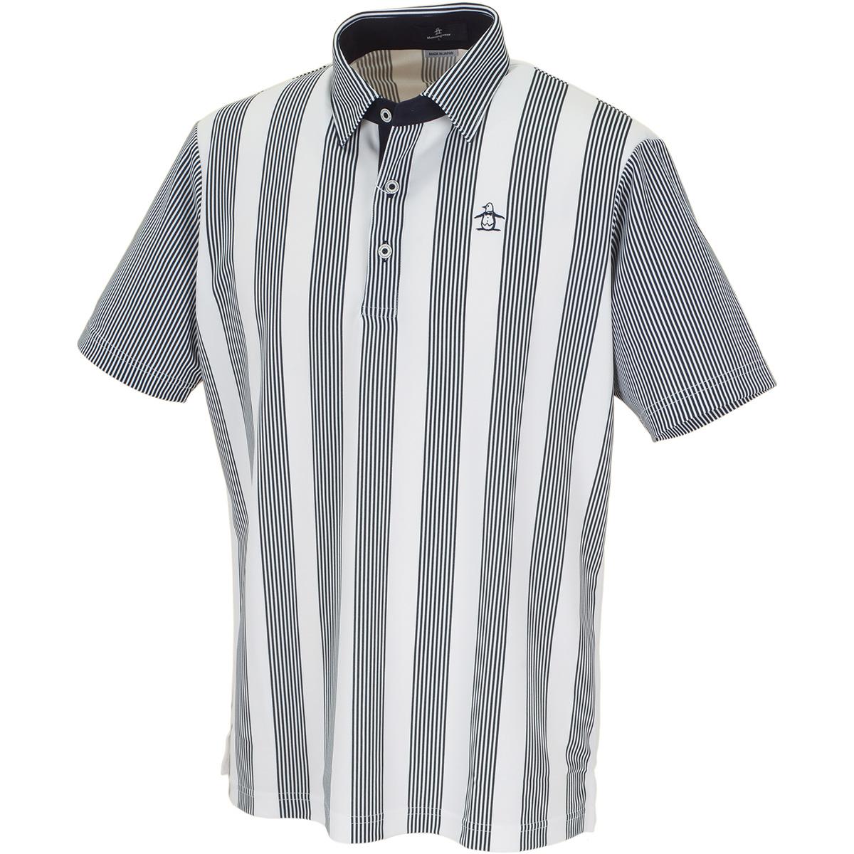 COOLISTストライプ半袖ポロシャツ