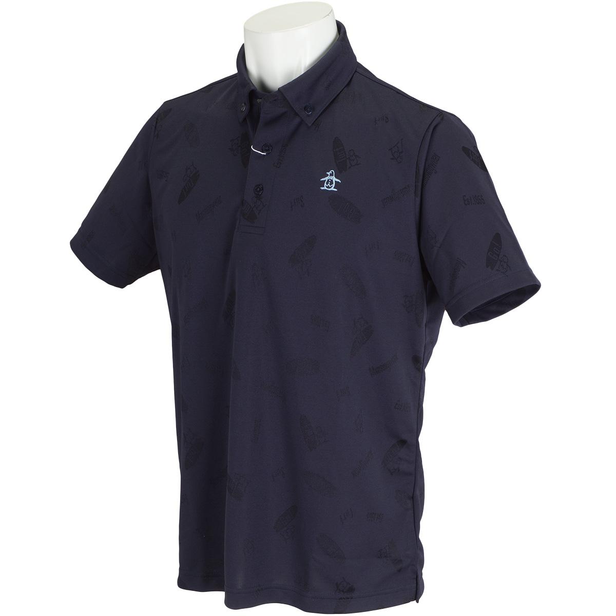 SUNSCREENサーフジャカード半袖ポロシャツ