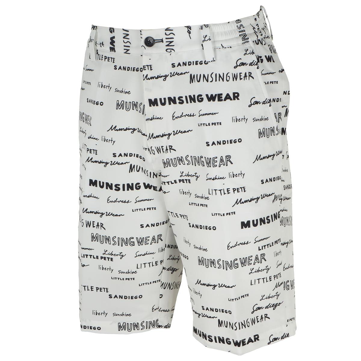 SAYURI NISHIKUBO×Munsingwear COOLISTストレッチロゴプリント ショートパンツ