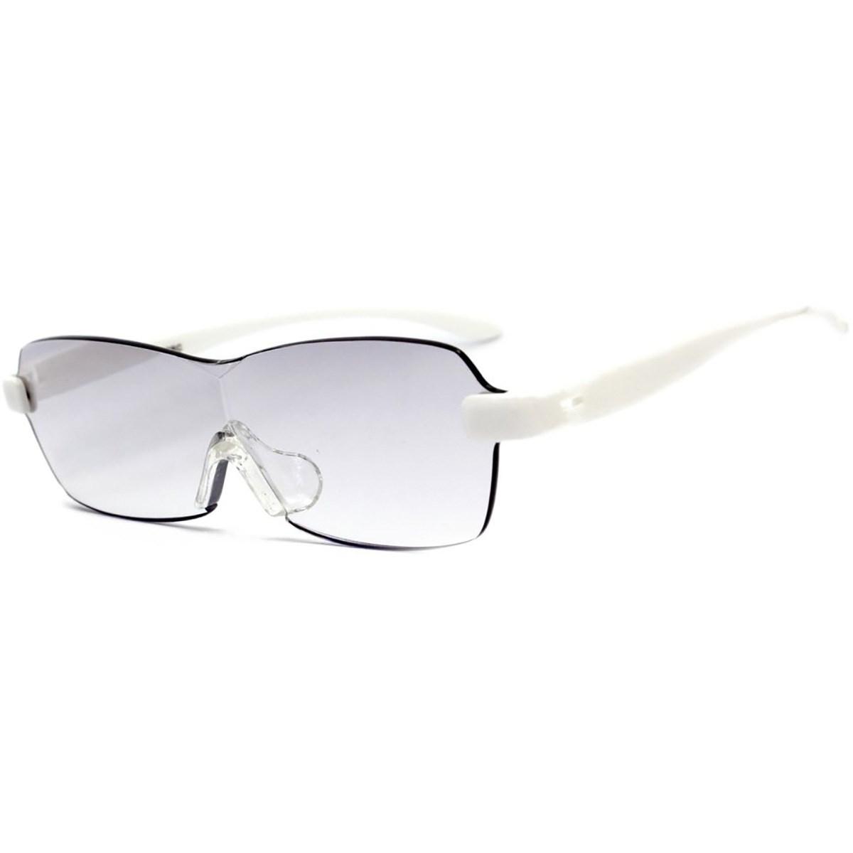 レサ RESA メガネ型拡大鏡 ホワイト(1.6倍)