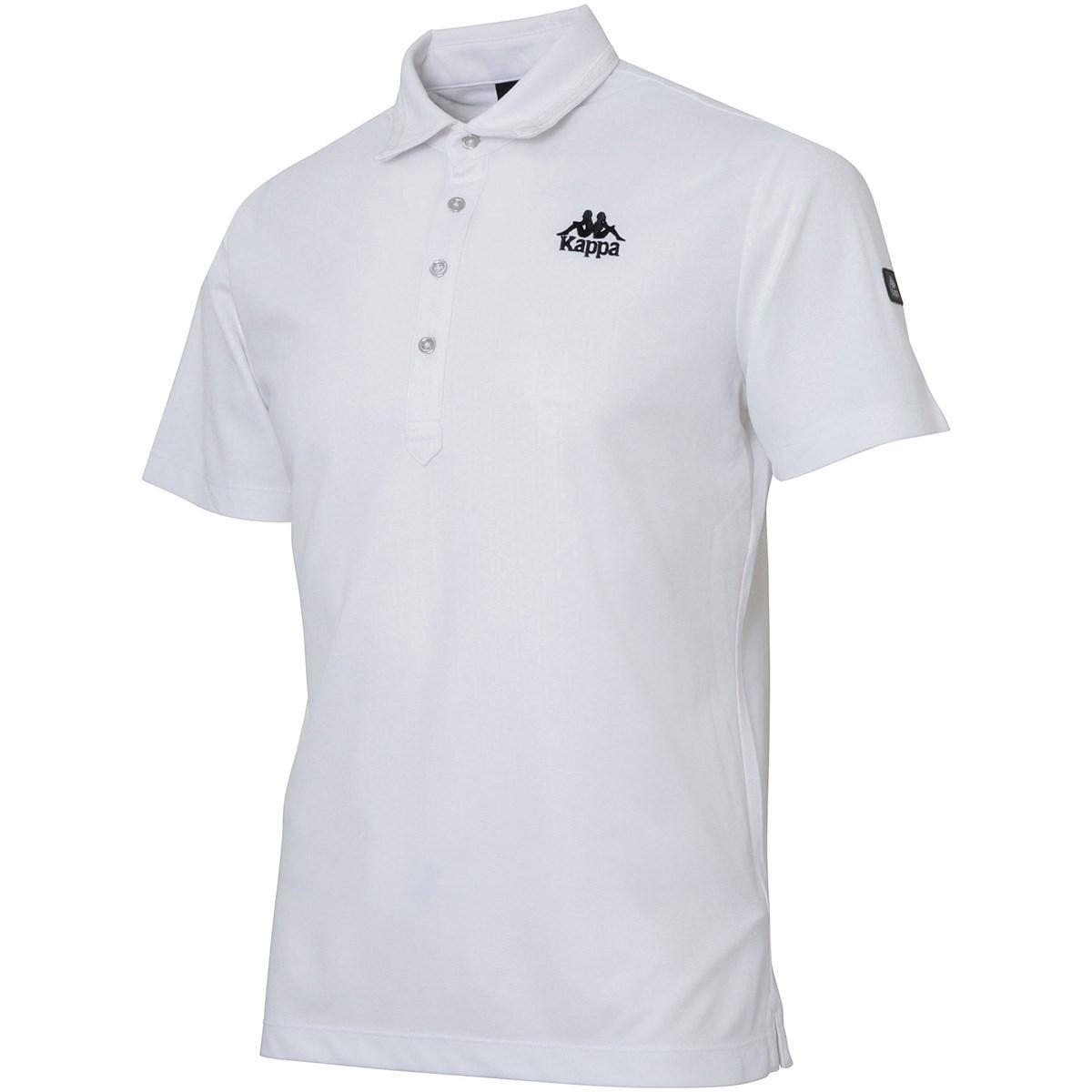 カッパ Kappa GOLF アンティークタイルエンボス柄半袖ポロシャツ