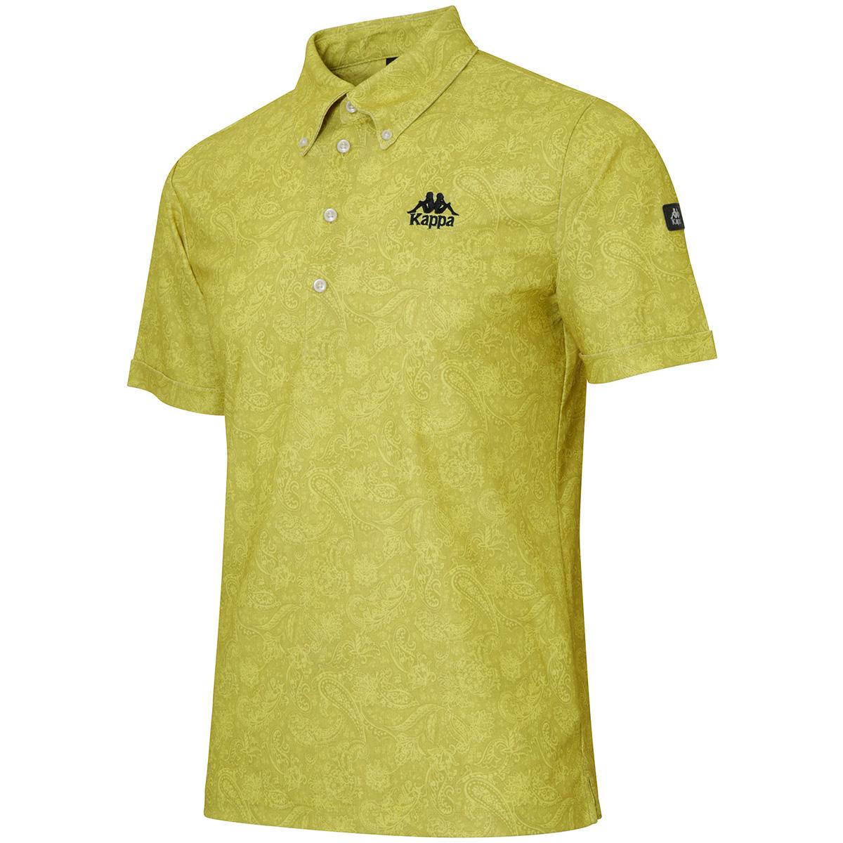 Kappa GOLF ペイズリープリント半袖ポロシャツ