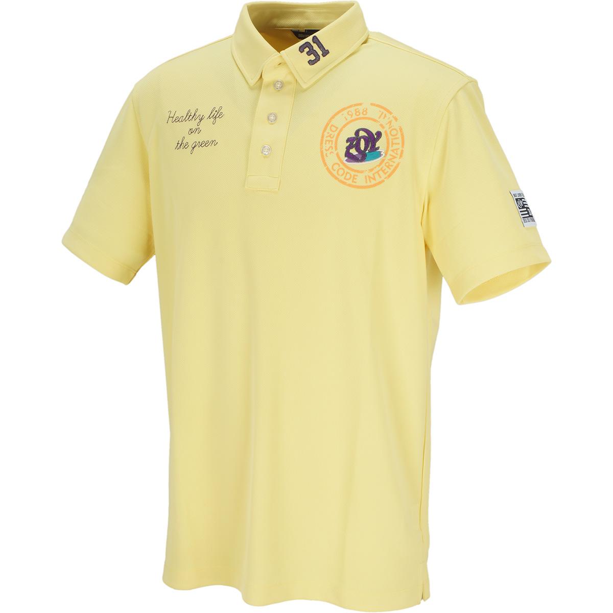 ハイブリットハニカムジャージー 半袖ポロシャツ