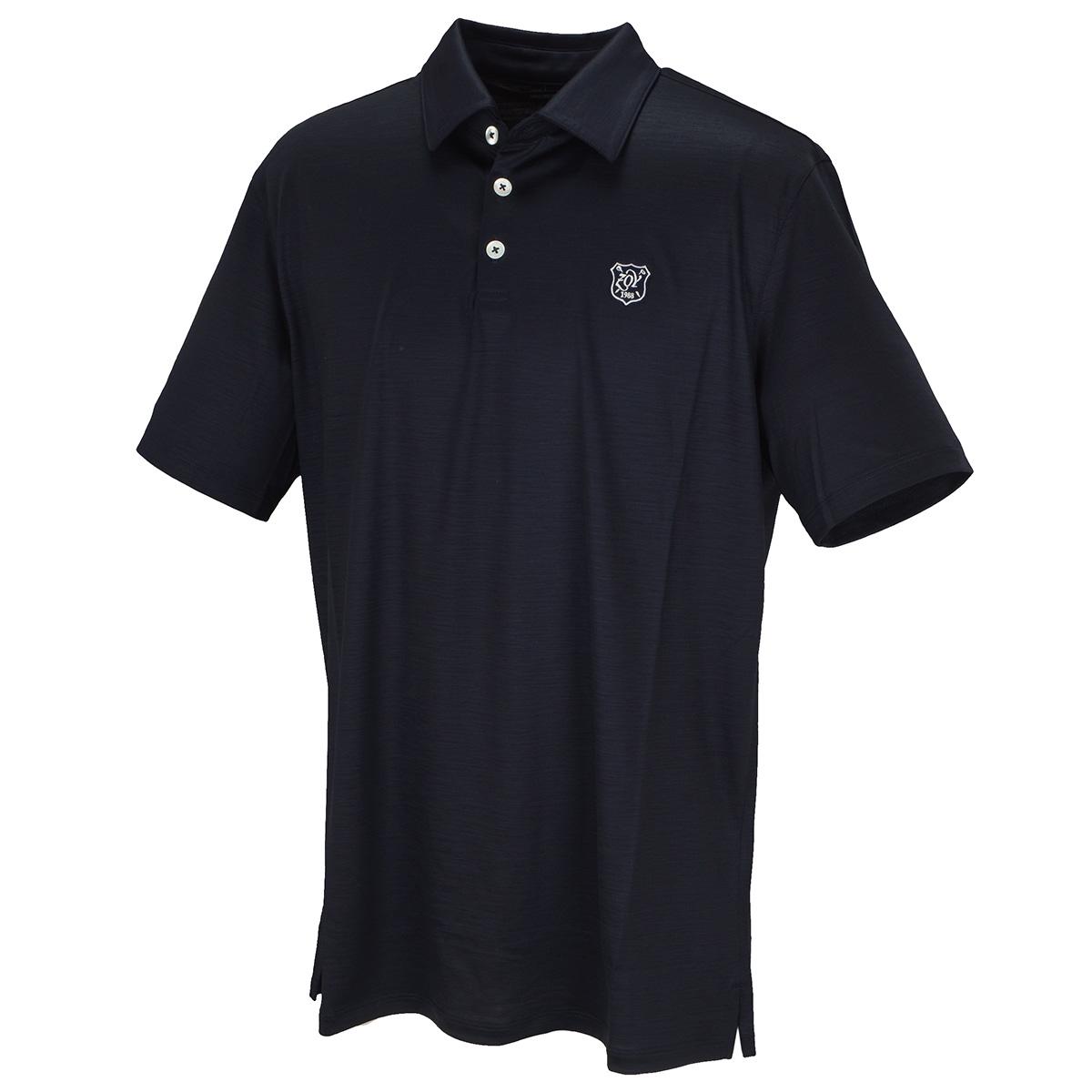 ウール半袖ポロシャツ