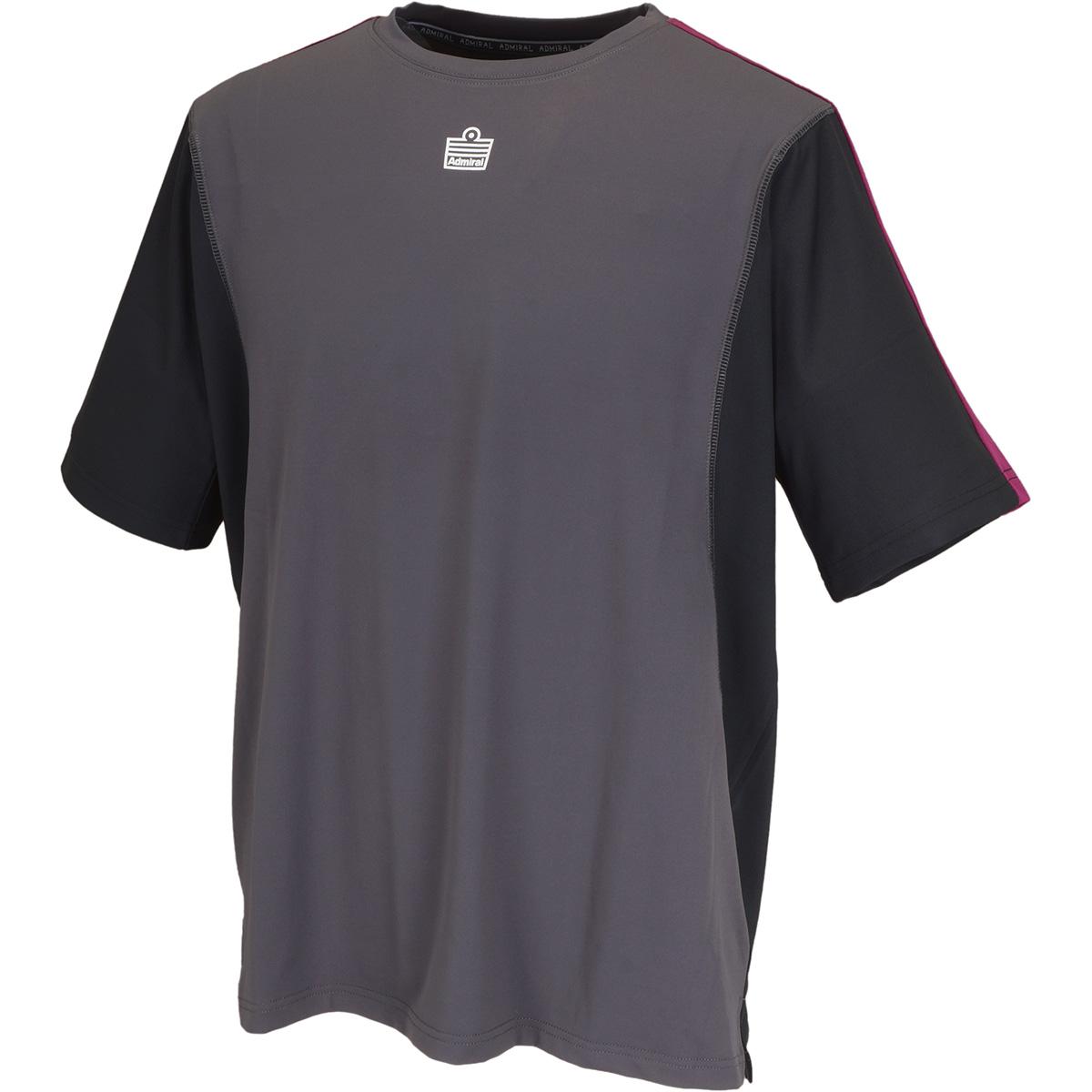バイカラーゲーム半袖Tシャツ