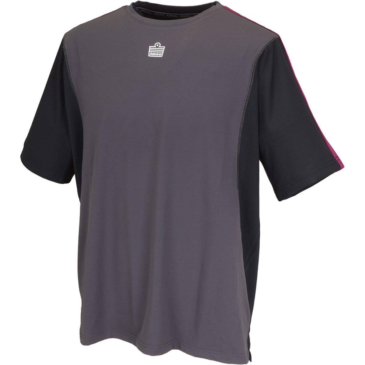 アドミラル バイカラーゲーム半袖Tシャツ