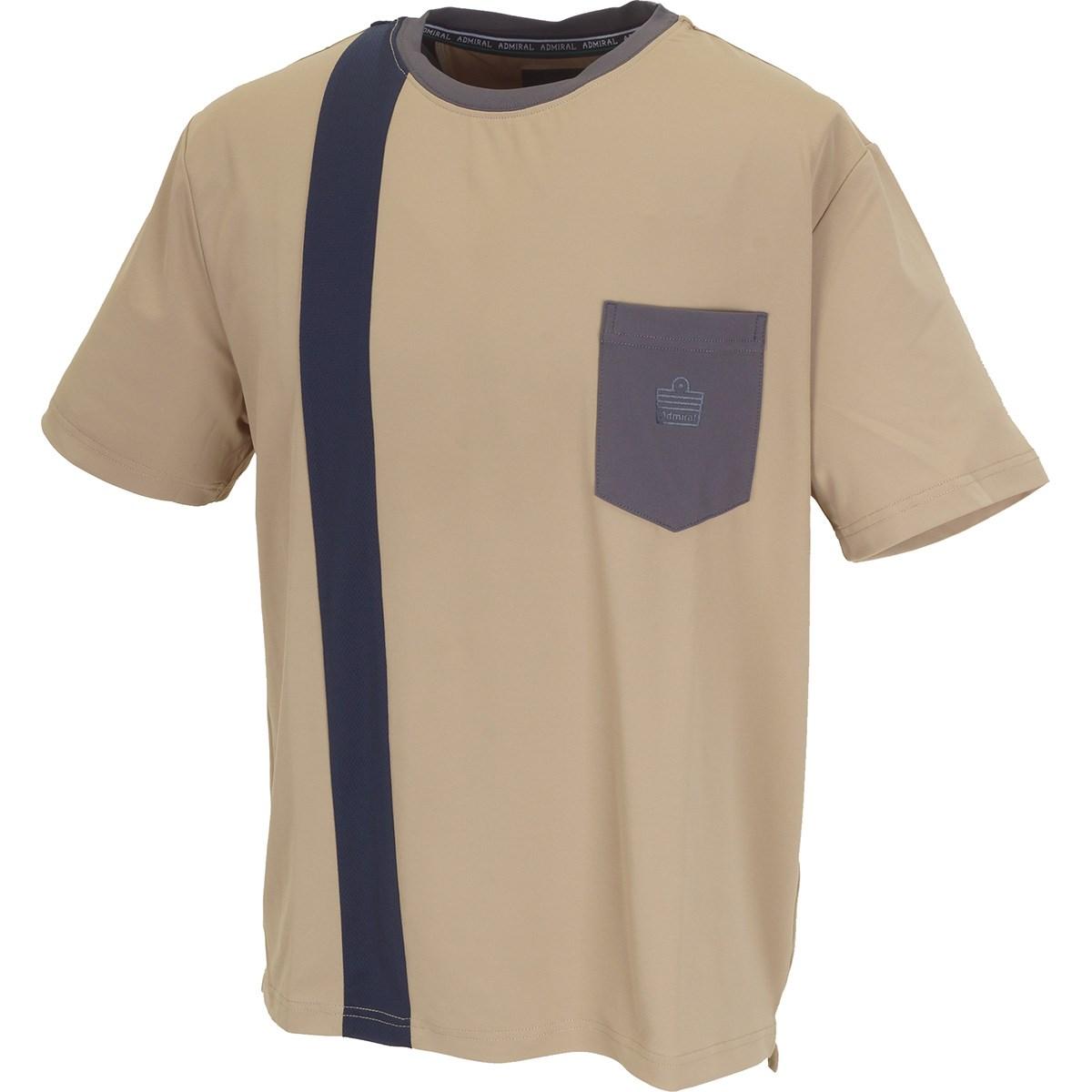 アドミラル ヴァーティカルロゴ プラクティス半袖Tシャツ