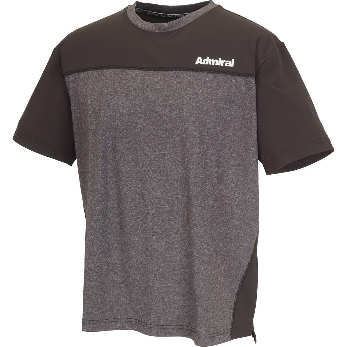アドミラル Admiral Athle ミックスゲーム半袖Tシャツ M ブラウン 22