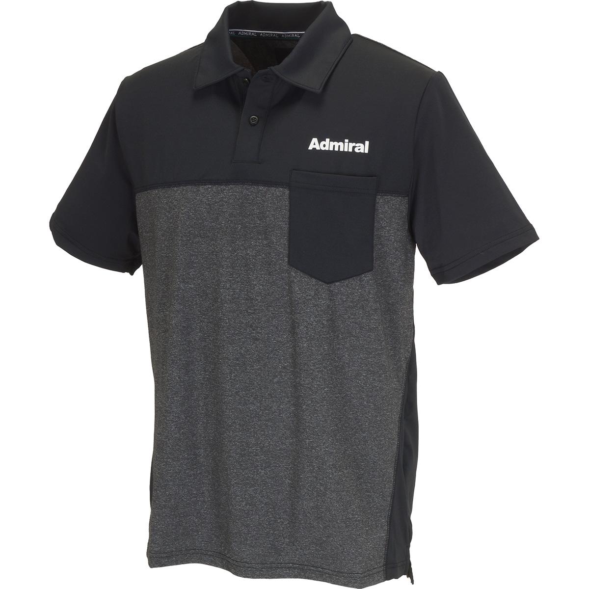 ミックス半袖ポロシャツ