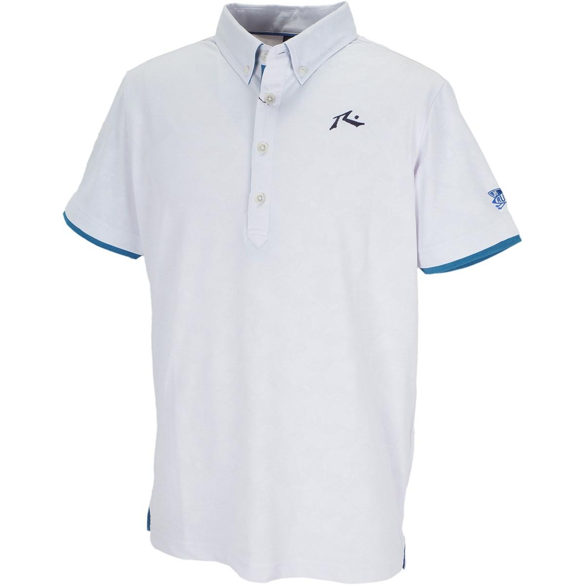 ラスティ RUSTY 半袖ポロシャツ L ホワイト