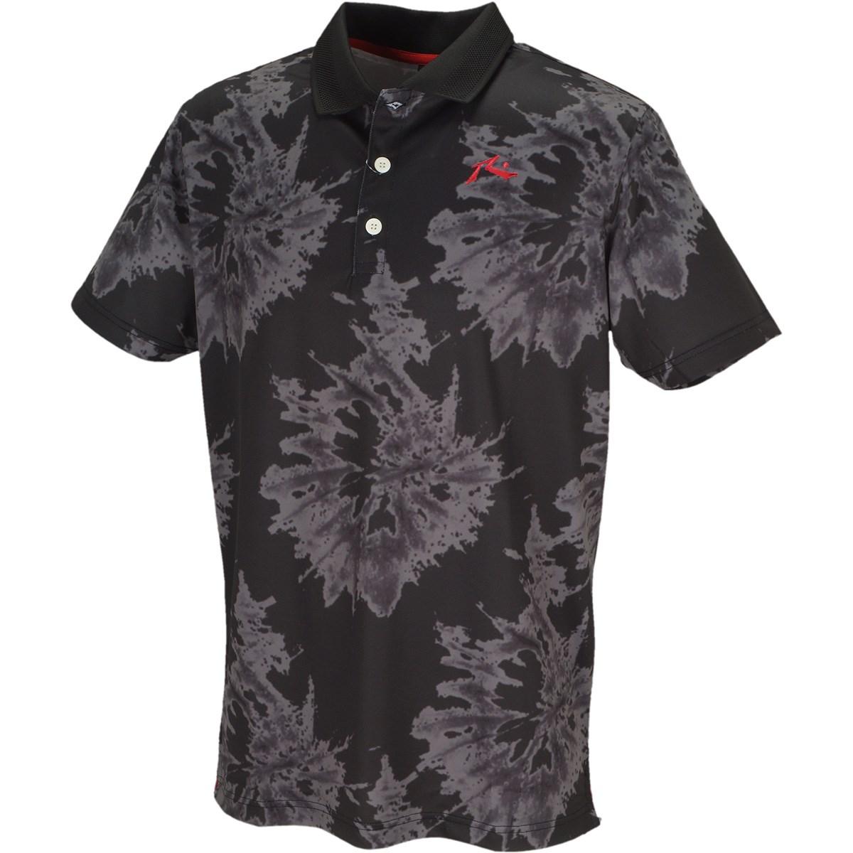 ラスティ RUSTY 半袖ポロシャツ M ブラック