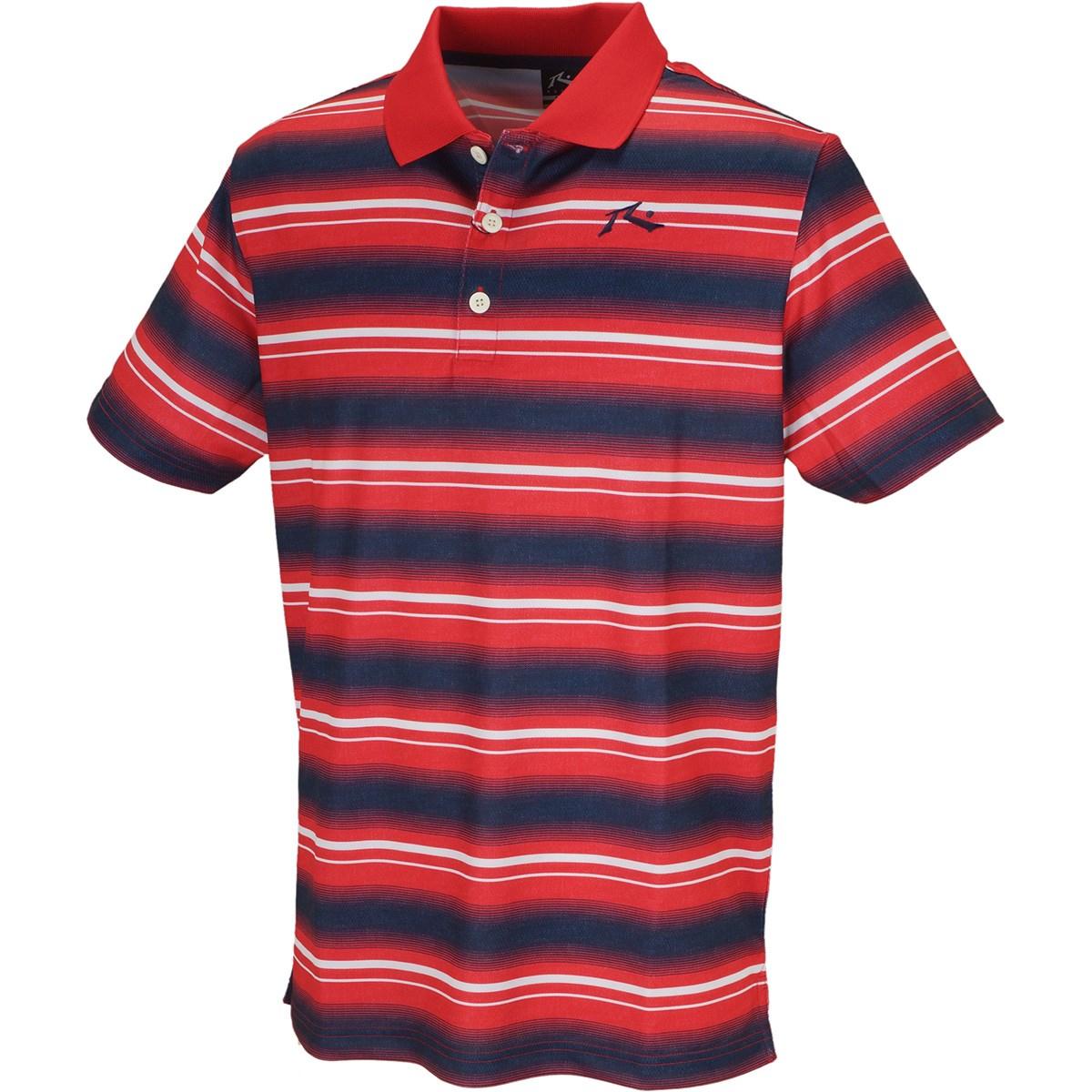 ラスティ RUSTY 半袖ポロシャツ M レッド
