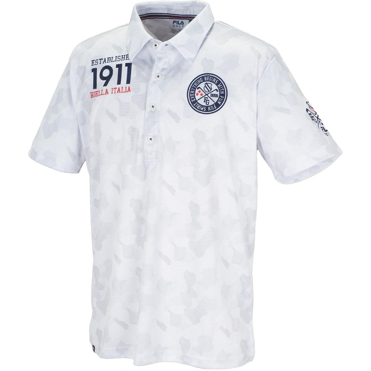 フィラ FILA 半袖ポロシャツ M ホワイト
