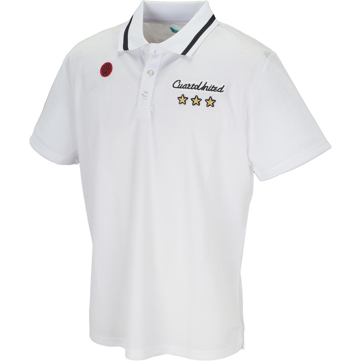 バッグロゴ半袖ポロシャツ
