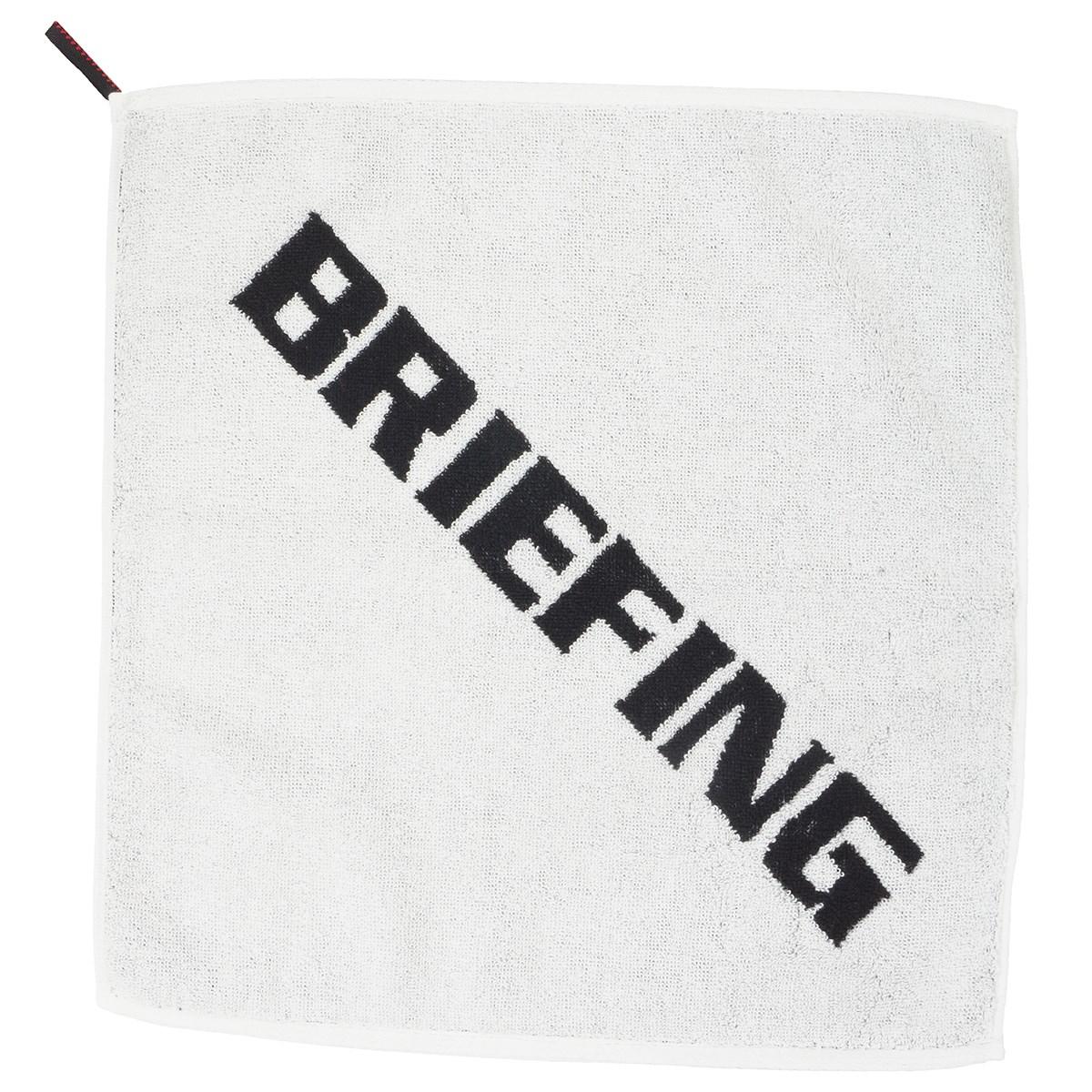 ブリーフィング BRIEFING ハンドタオル ホワイト