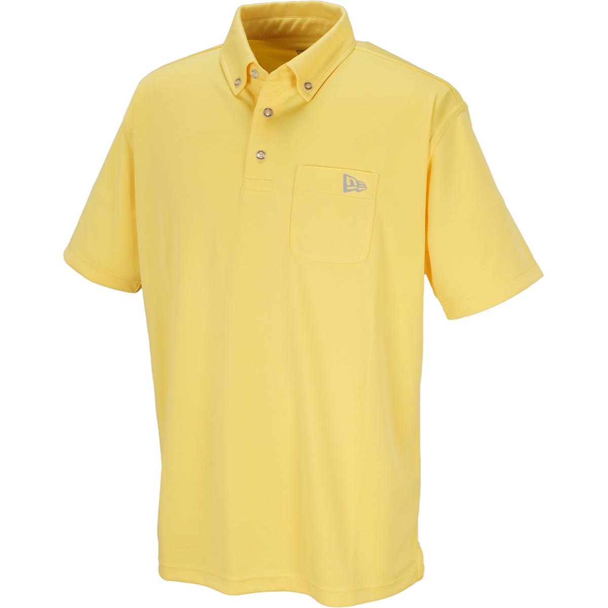 GOLF POCKET ボタンダウン半袖ポロシャツ