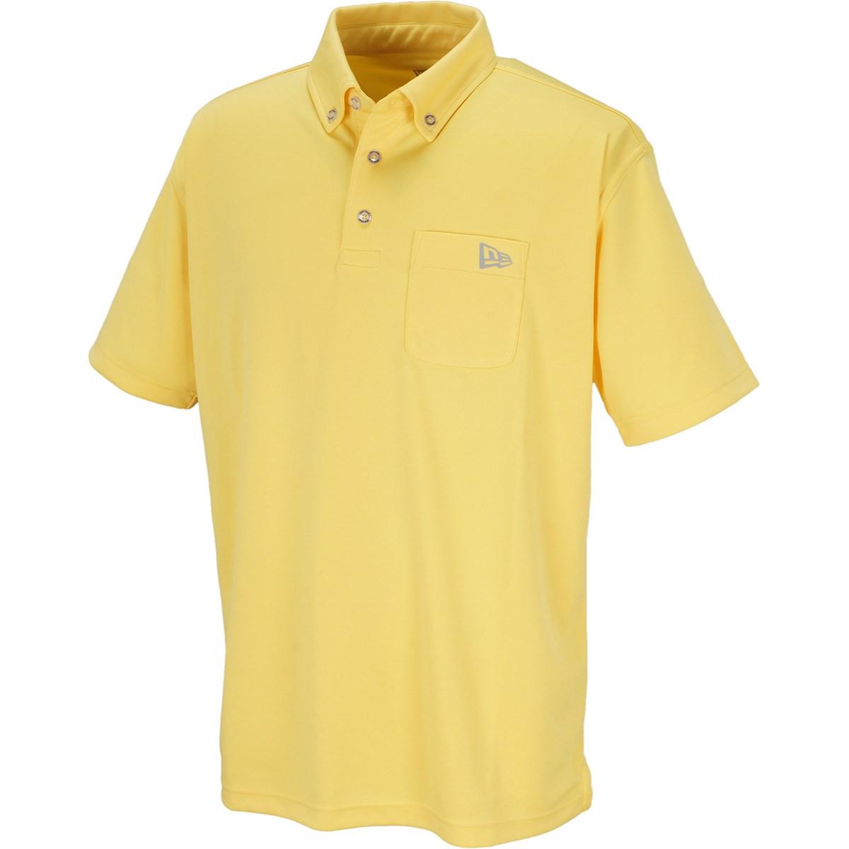 ニューエラ GOLF POCKET ボタンダウン半袖ポロシャツ