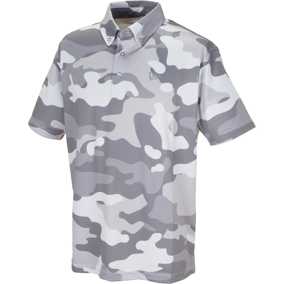 GOLF ボタンダウン半袖ポロシャツ
