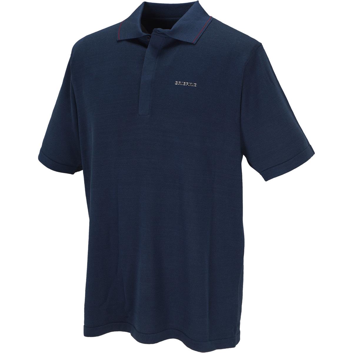 ウォッシャブルシルク 半袖ポロシャツ