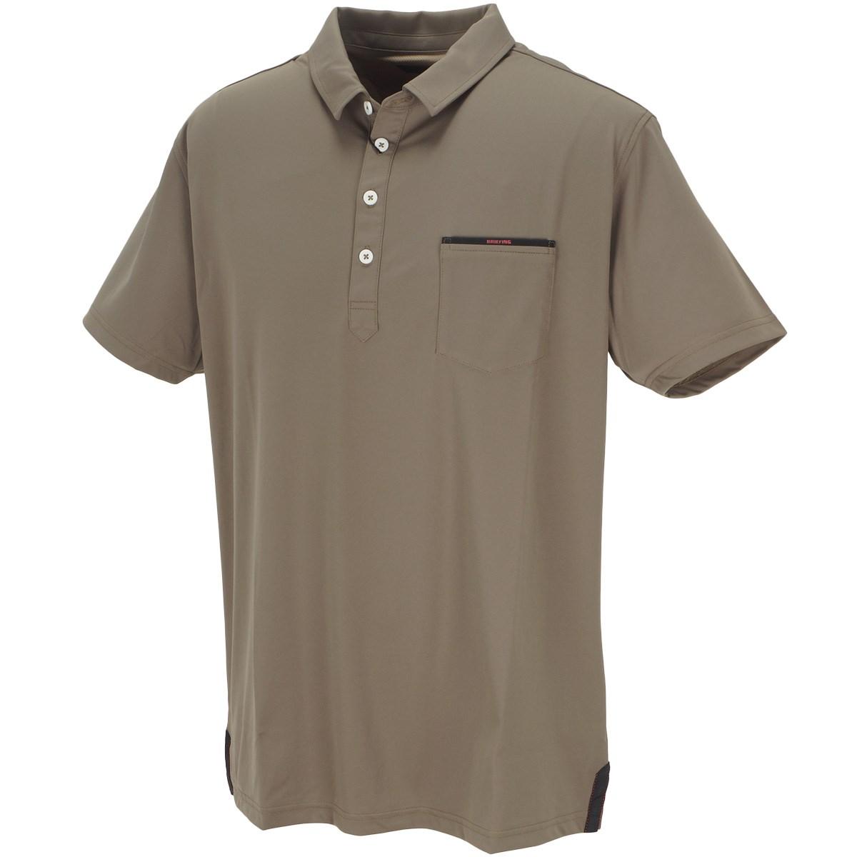 ブリーフィング ミニマム 半袖ポロシャツ
