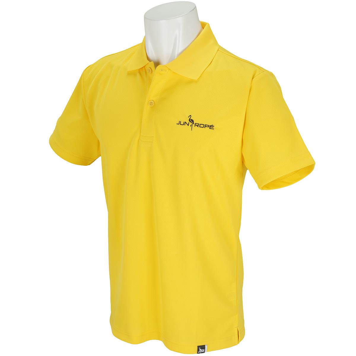 刺繍入りドライ半袖ポロシャツ