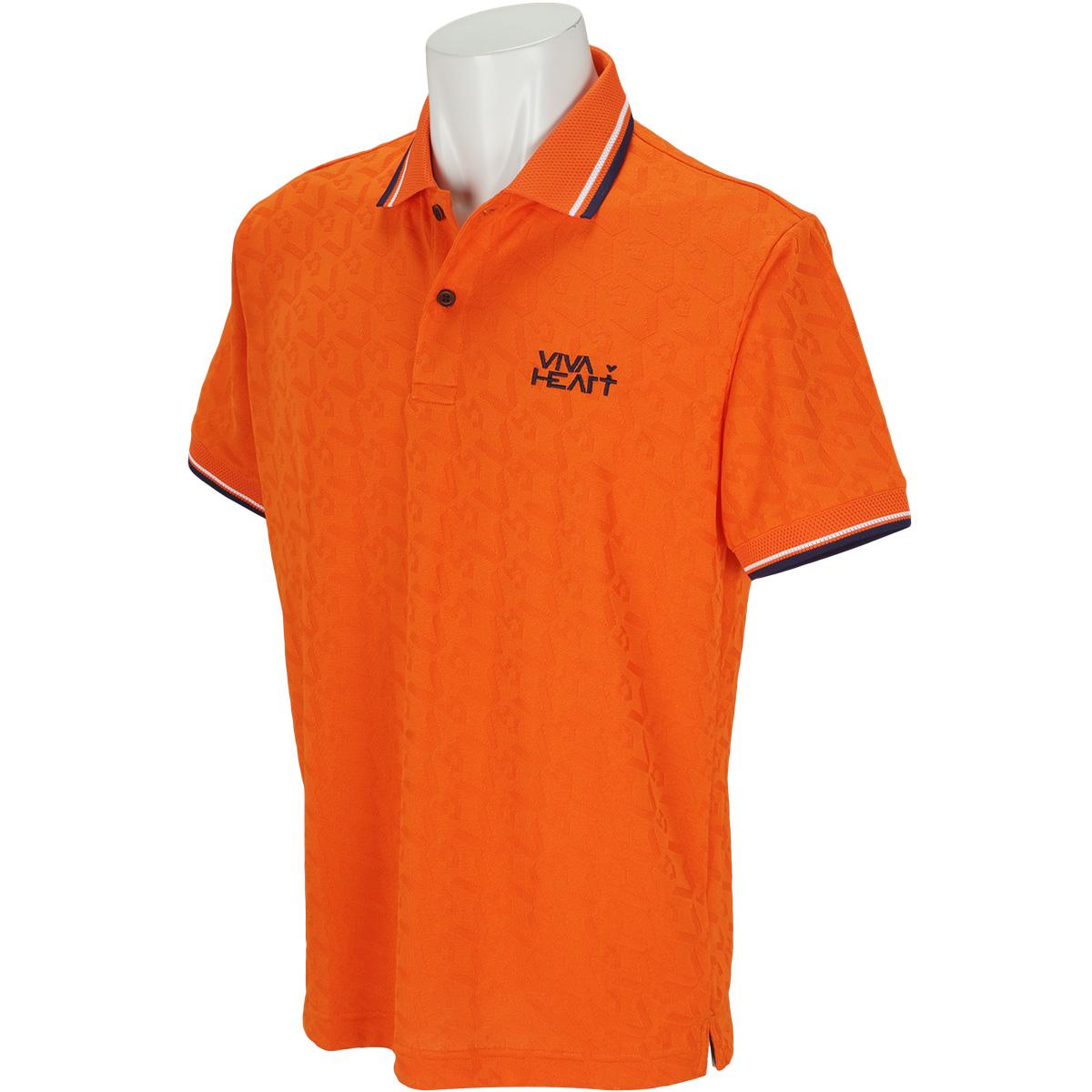 リンクスジャカード 半袖ポロシャツ