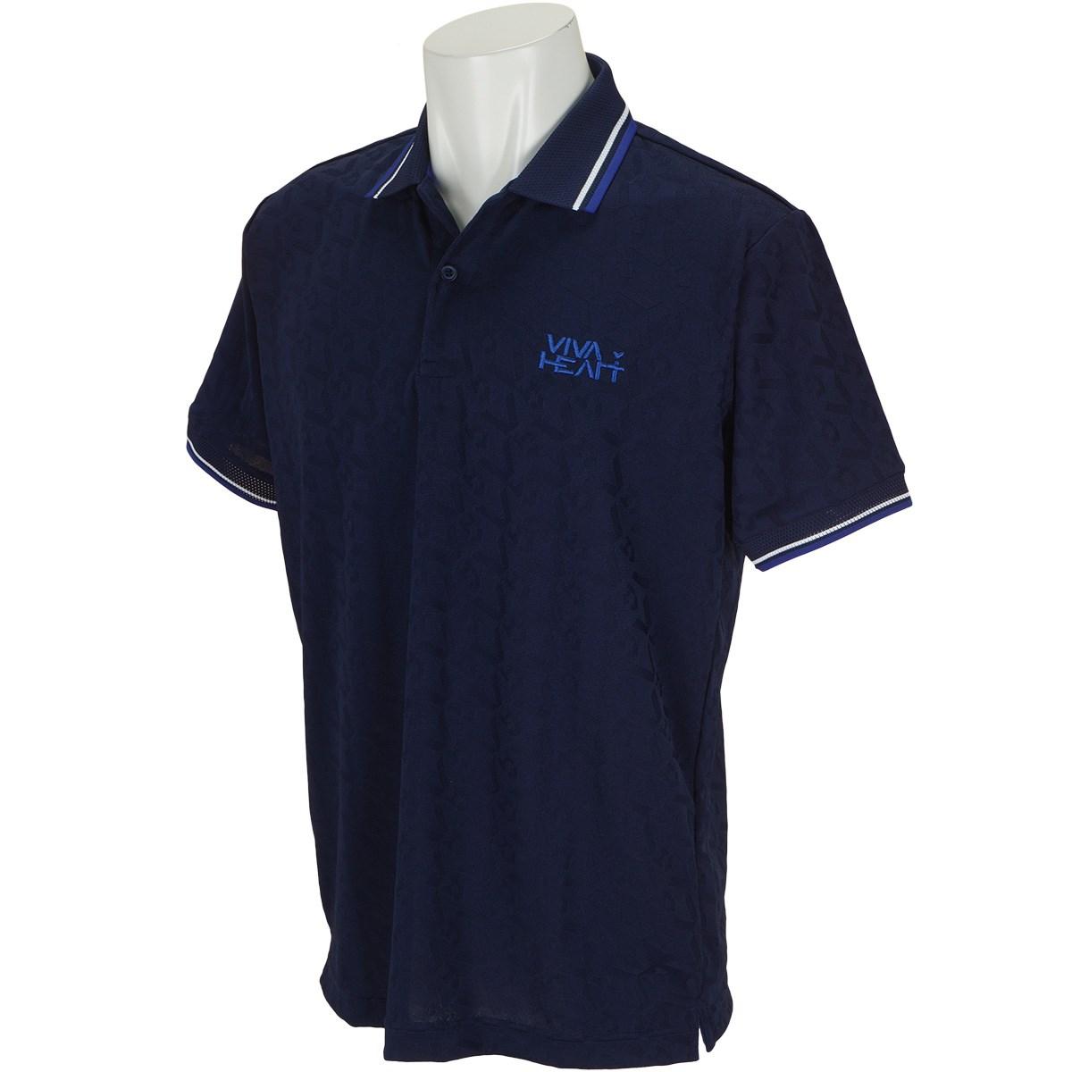 ビバハート リンクスジャカード 半袖ポロシャツ