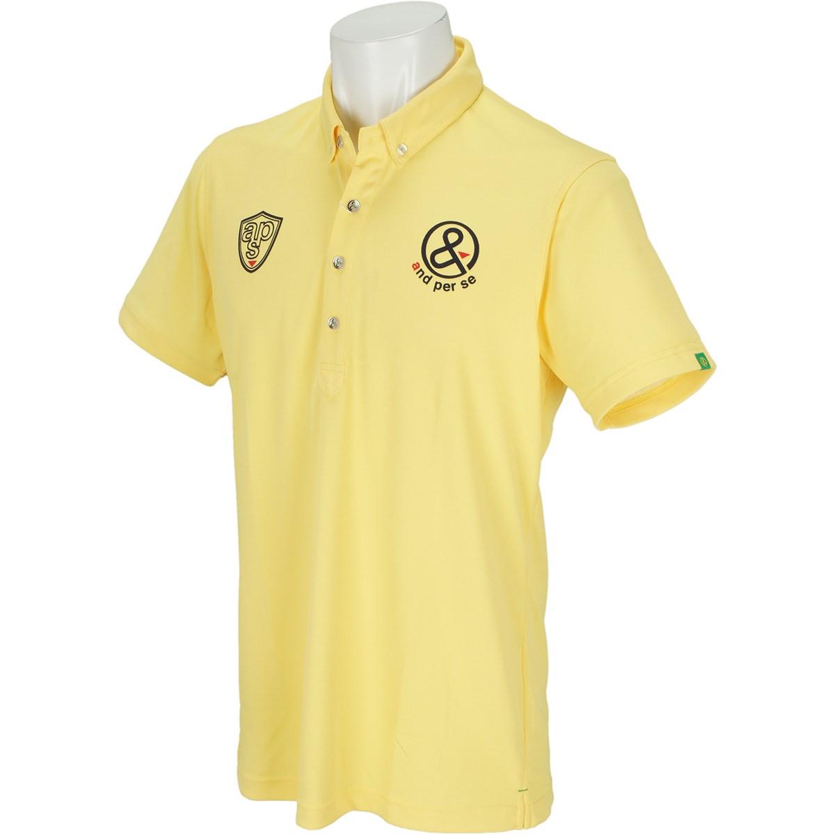 アンパスィ ボタンダウン半袖ポロシャツ