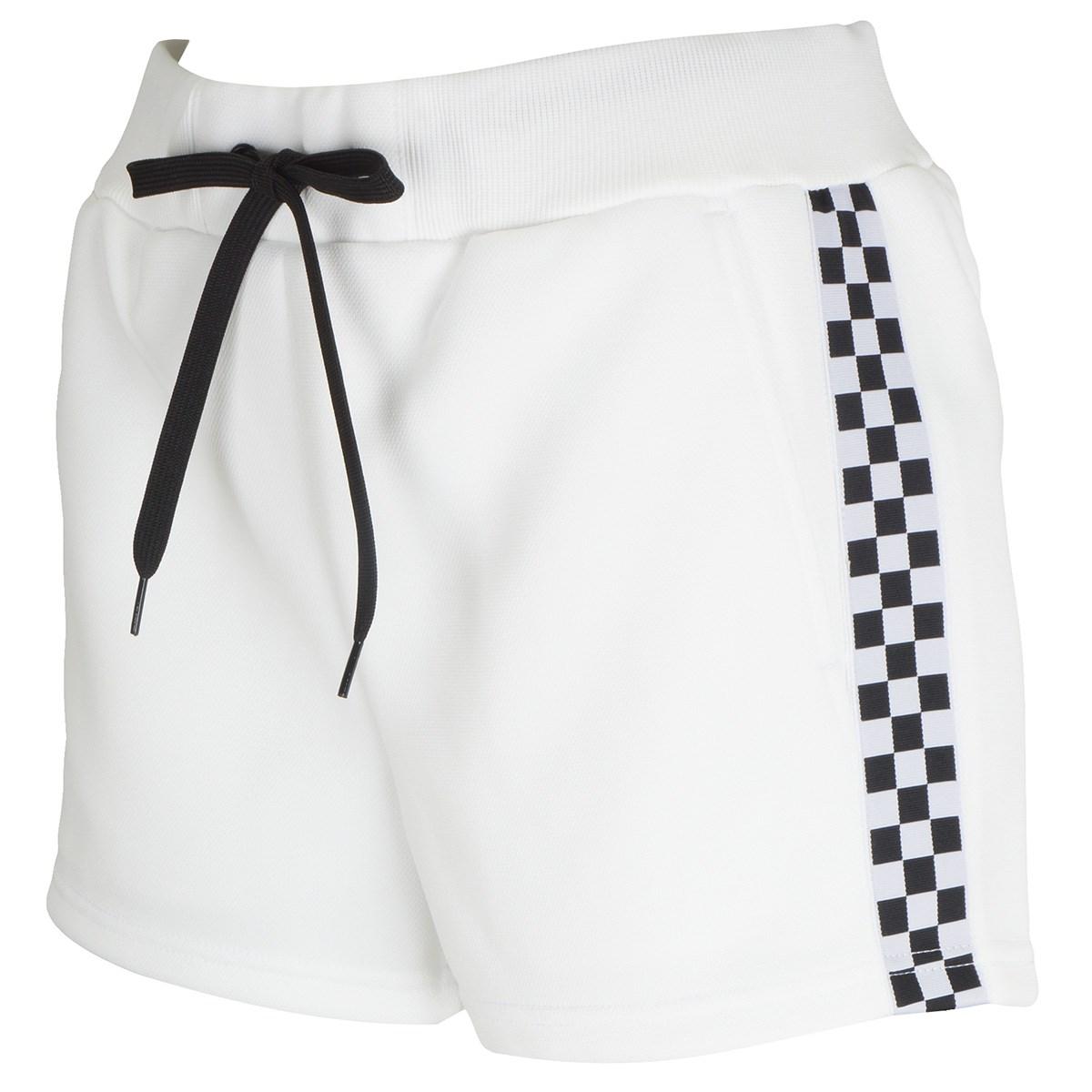 [アウトレット] [在庫限りのお買い得商品] ジャックバニー FDエステル 鹿の子段ボールショートパンツ ホワイト 030 レディース ゴルフウェア