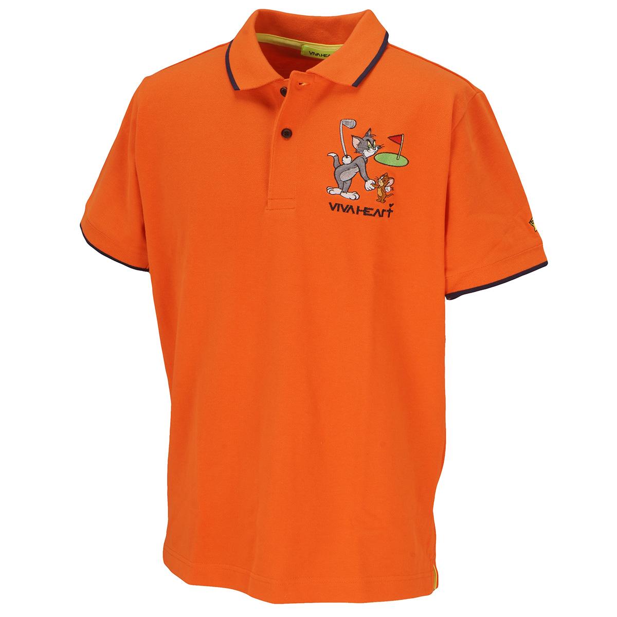 鹿の子 T&J半袖ポロシャツ