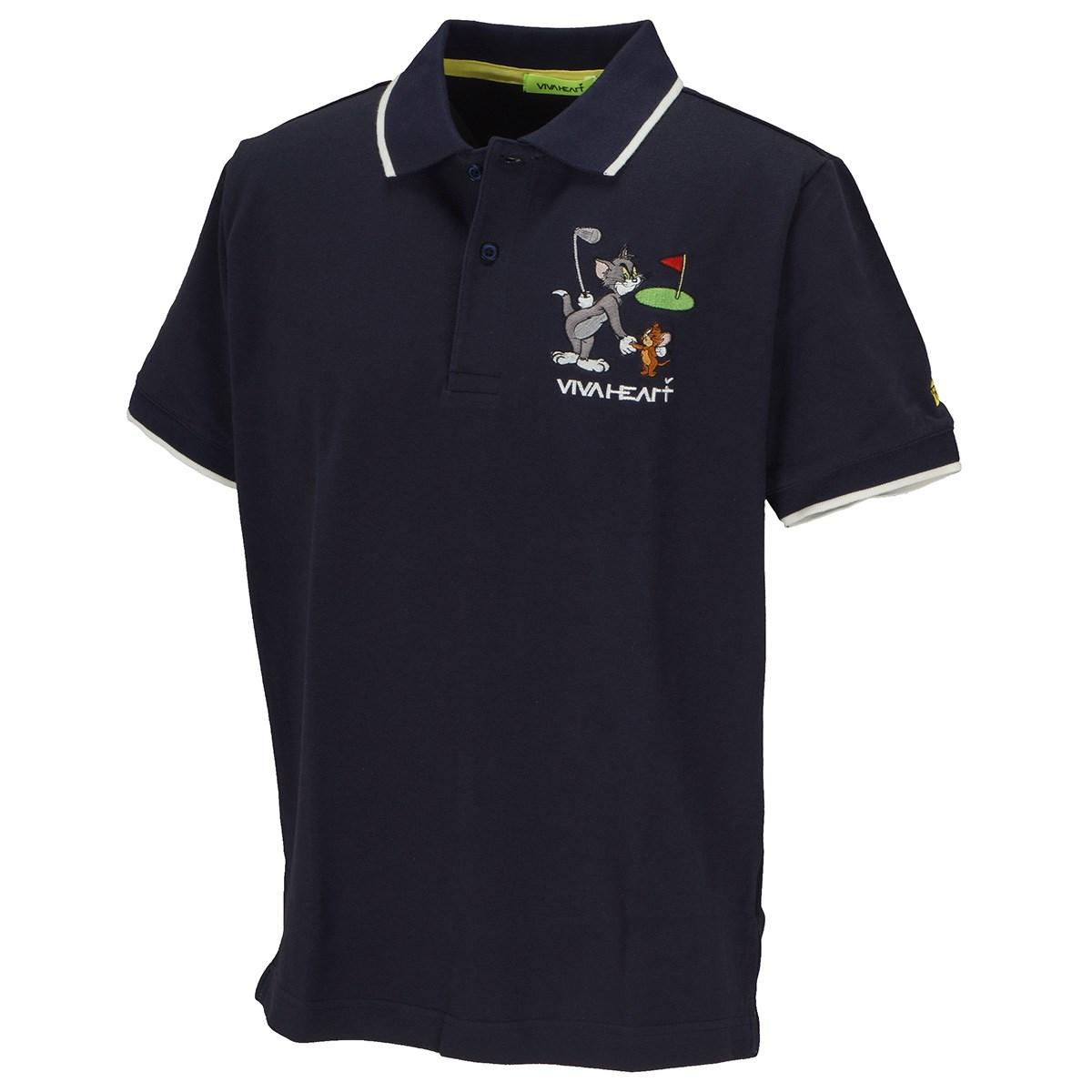ビバハート 鹿の子 T&J半袖ポロシャツ