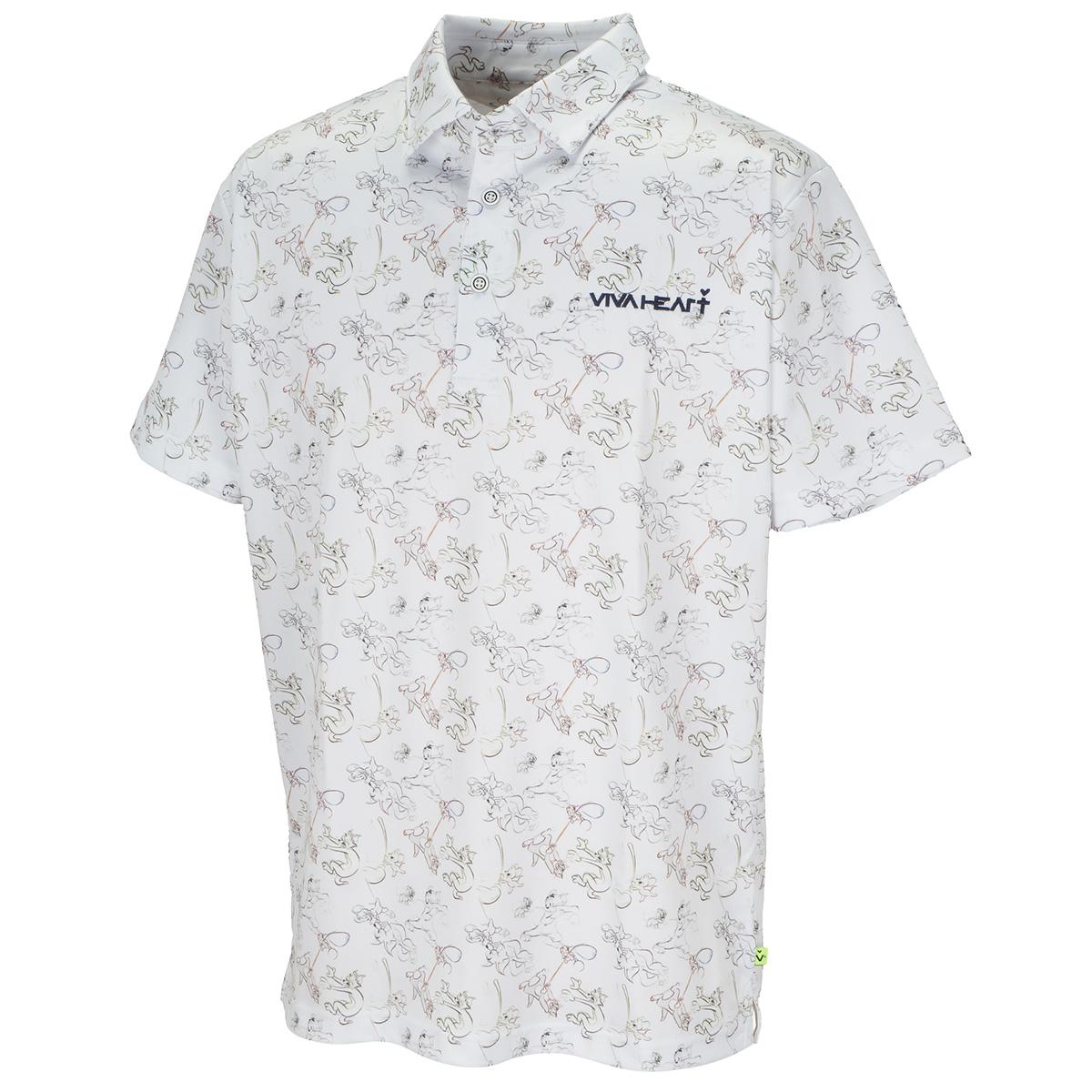 T&Jプリント 半袖ポロシャツ