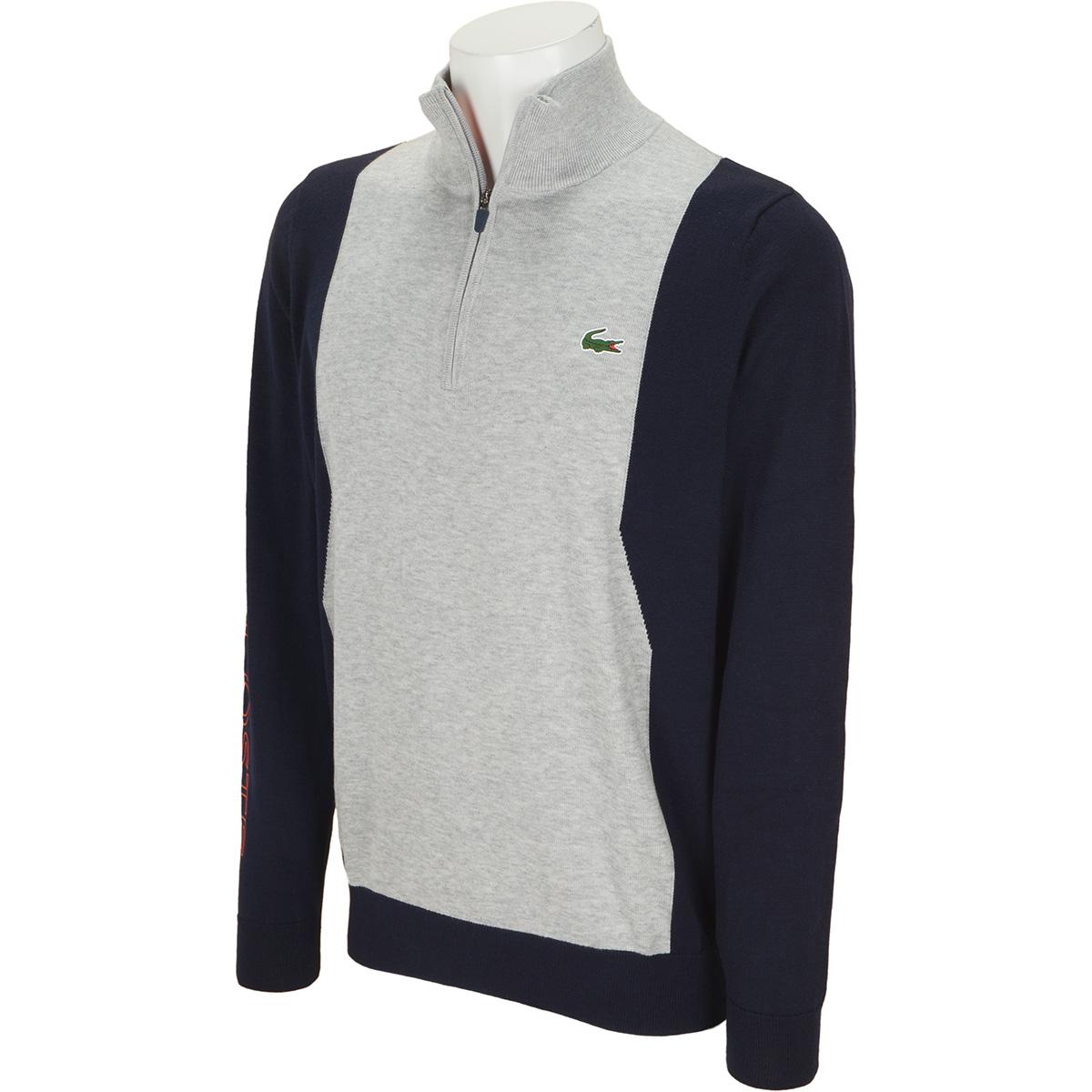 COOLMAX(R)仕様 ハーフジップゴルフセーター