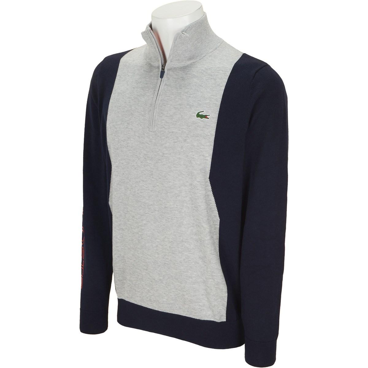 ラコステ COOLMAX(R)仕様 ハーフジップゴルフセーター