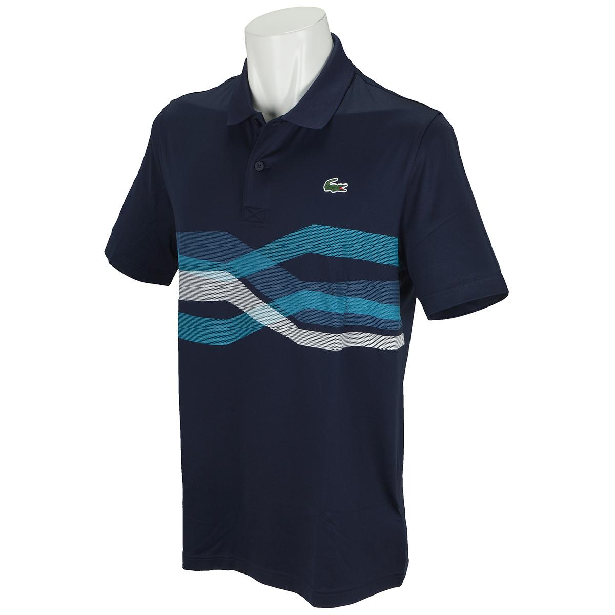 ウルトラドライ仕様 グラフィックラインゴルフ半袖ポロシャツ