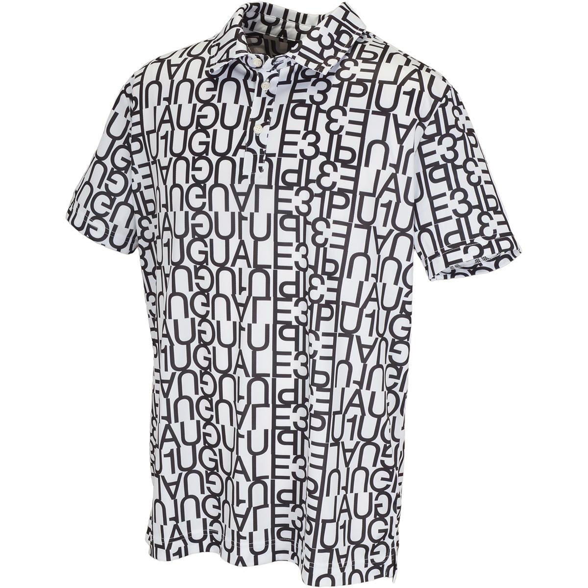 ビッグロゴ半袖ポロシャツ