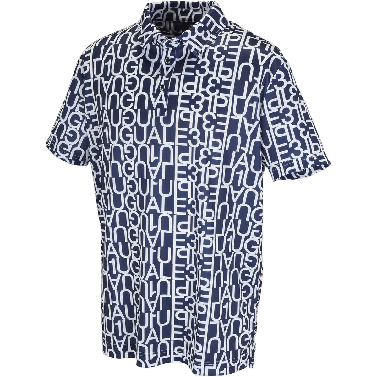 ウノ ピウ ウノ ウガーレ トレ ビッグロゴ半袖ポロシャツ