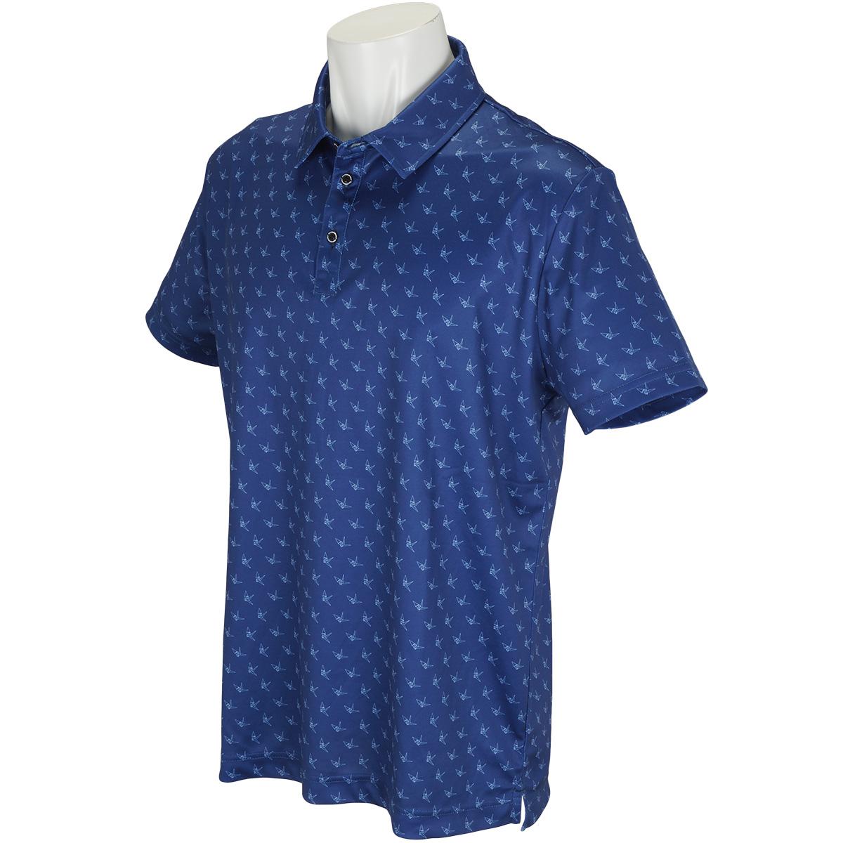 モノグラム半袖ポロシャツ