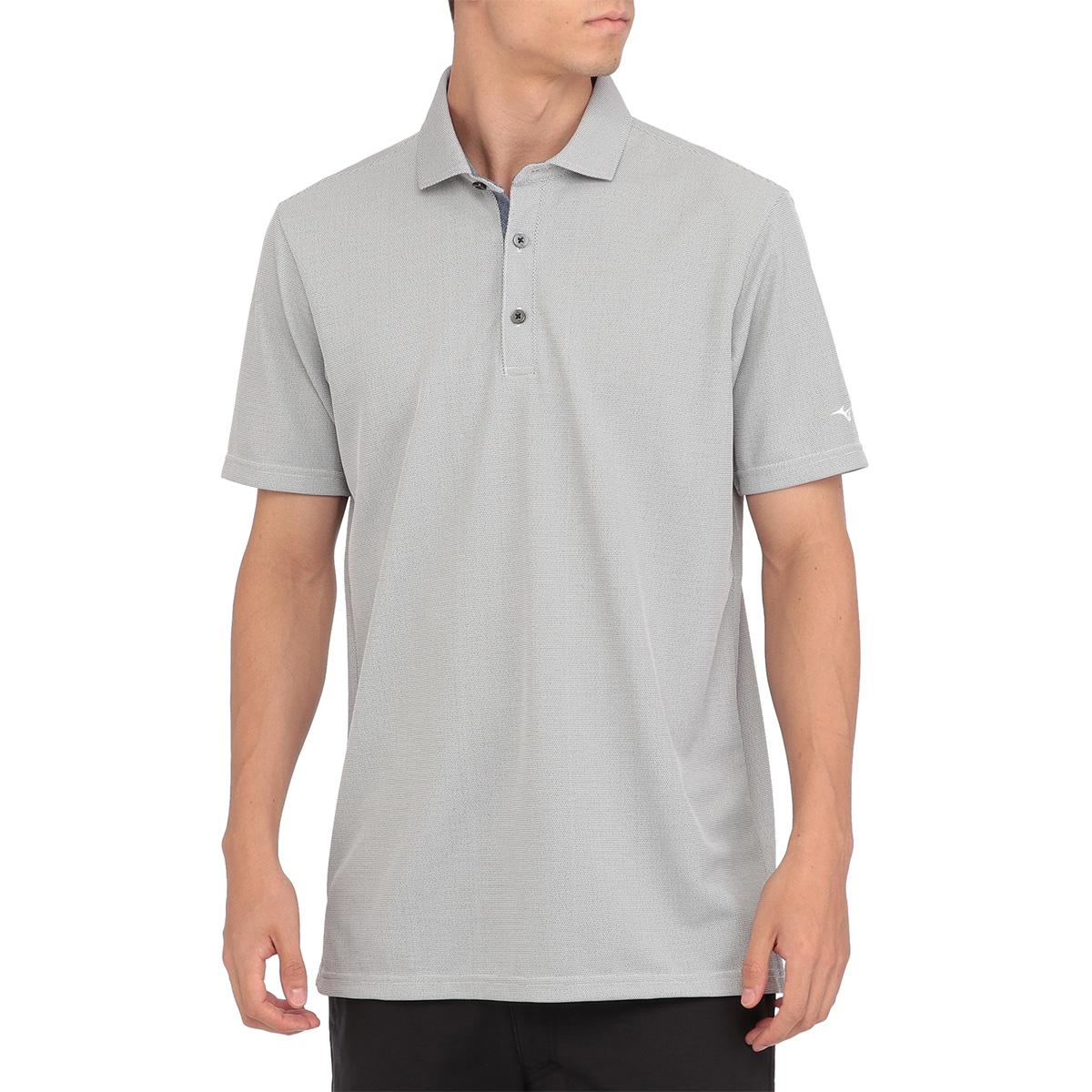 GOLF アイスタッチシャンブレー半袖ポロシャツ